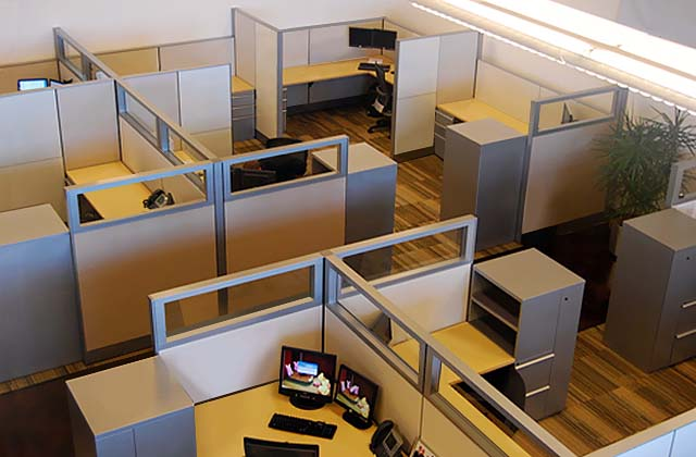 Bon Revitalize Your Office With Refurbished Cubicles
