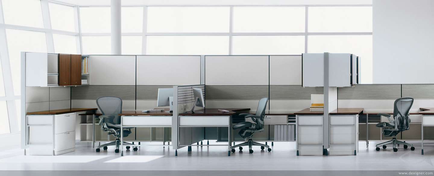 Lovely Herman Miller Cubicles