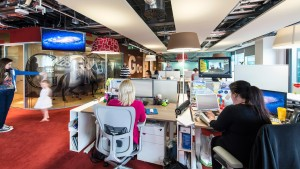 Googles Office Cubicles