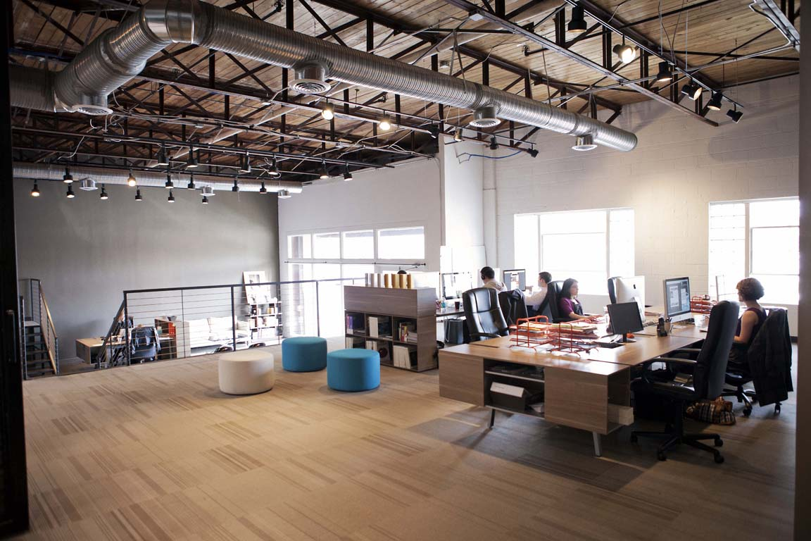 What your office says about your leadership for Interesting office interiors