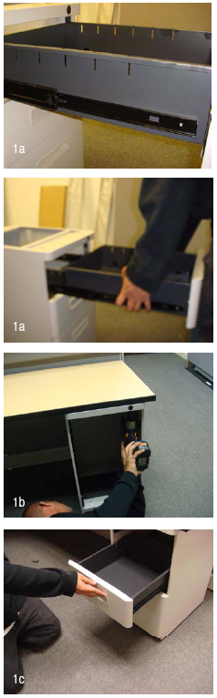 Cubicle File Installation