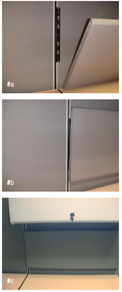 Cubicle Tack Board and Cubcile Marker Board Installation