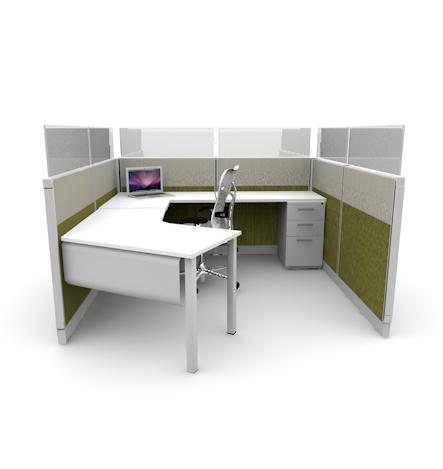 Open Concept Cubicle Design