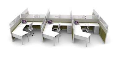 Open Concept Cubicles