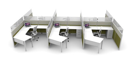 Office Cubicle Designs Extraordinary Open Concept Cubicle Design  Cubicles 2017