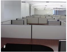 cubicle panel run