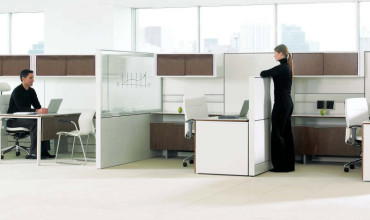 Teknion Leverage Cubicles