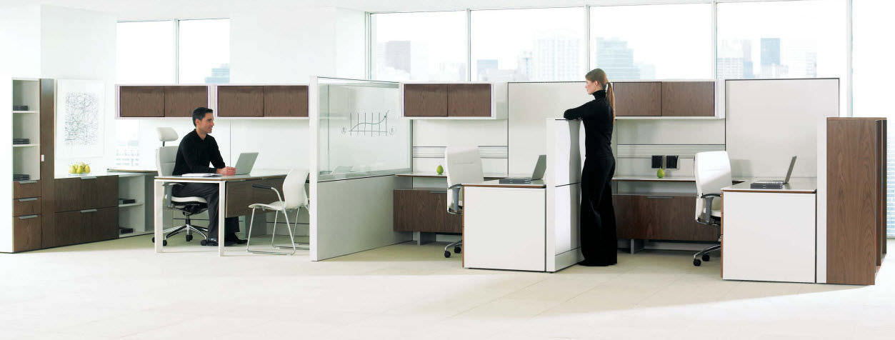 Teknion Leverage Cubicles | Cubicles.net