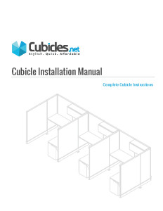 Cubicle Installation Instructions